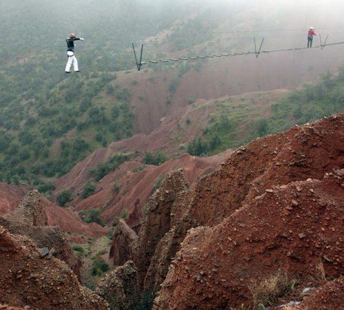 TERRE D'AMANAR, TAHANAOUTE, 35 KM AU SUD DE MARRAKECH, MAROC PHOTOS : PATRICK FORGET / SAGAPHOTO.COM